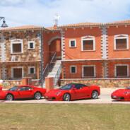 与马拉内罗的法拉利跑车在Murta Maria 和奥尔比亚尽情享乐