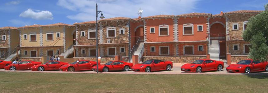 Residenze Myrsine - eventi - rosso ferrari